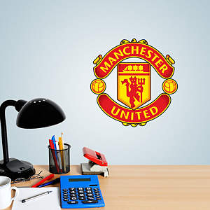 Manchester United Crest Teammate Fathead Decal
